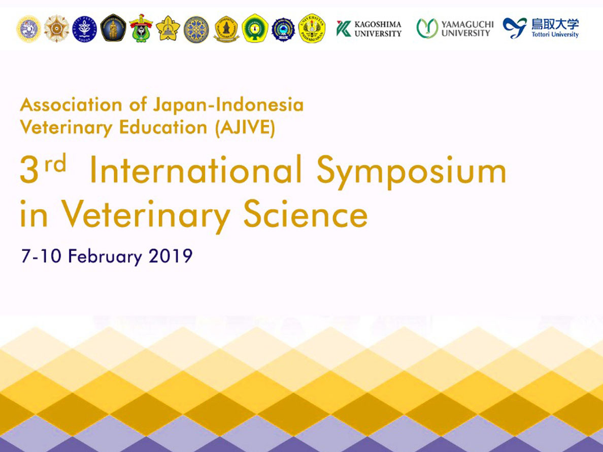 3rd International Symposium in Veterinary Science